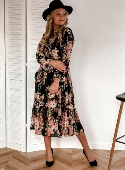 Sukienka Mandi czarna 1
