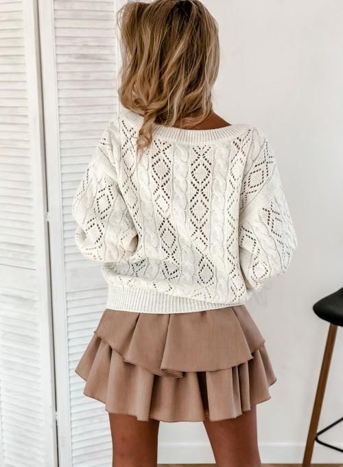 Sweter Wonder śmietankowy 9