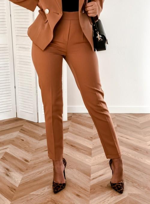 Spodnie Werdi karmel 2