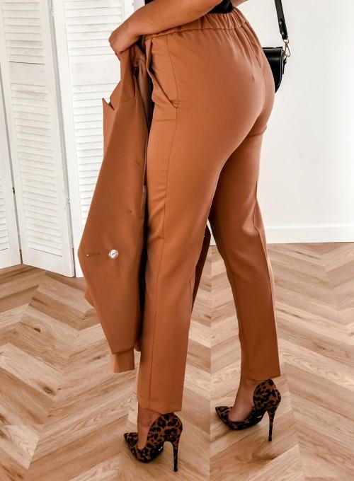 Spodnie Werdi karmel 4