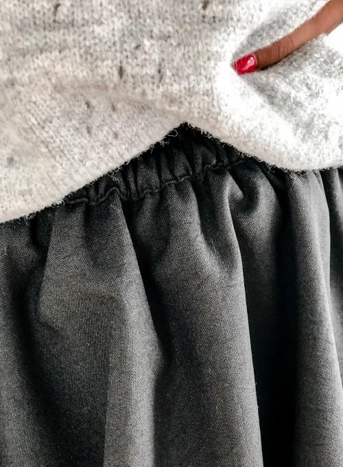 Spódnica Orella czarna 4