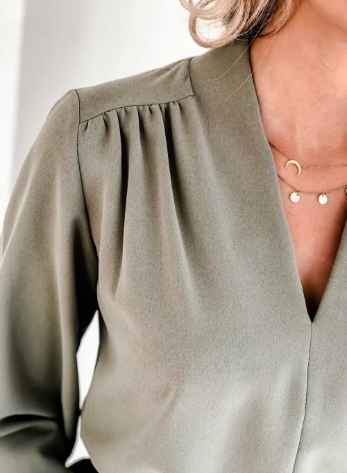Bluzka Navaz khaki 5