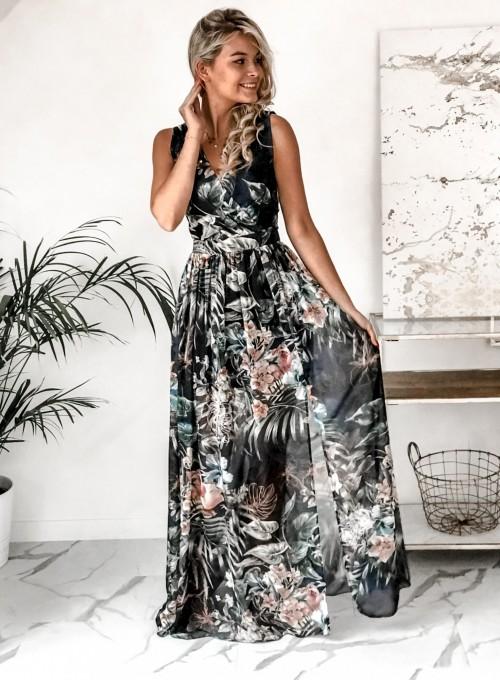 Sukienka Ibiza granatowa