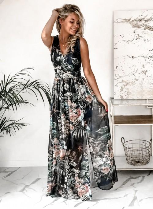 Sukienka Ibiza granatowa 3