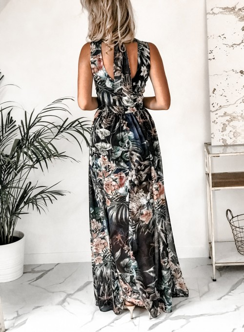 Sukienka Ibiza granatowa 4