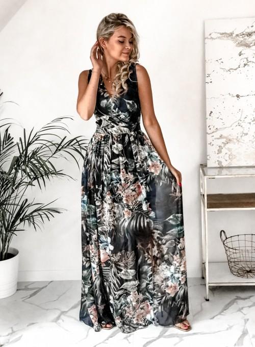Sukienka Ibiza granatowa 5