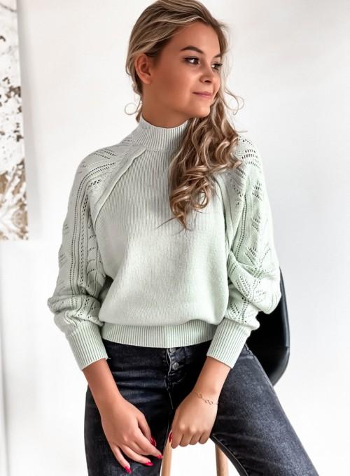 Sweter Tonni mięta 2