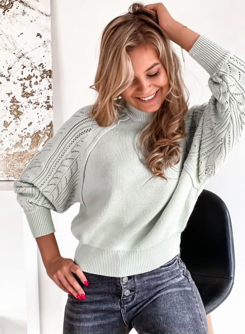 Sweter Tonni mięta 3