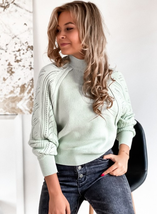 Sweter Tonni mięta 4