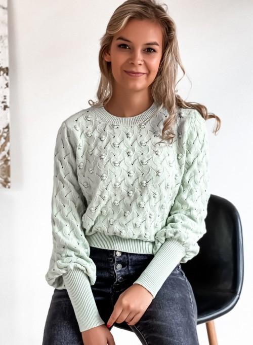 Sweter Naomi mięta