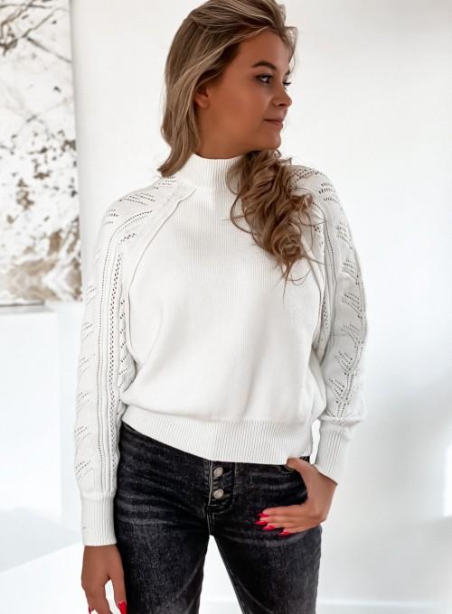Sweter Tonni śmietankowy 2