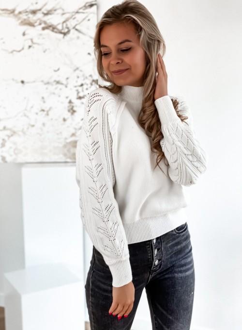 Sweter Tonni śmietankowy 4