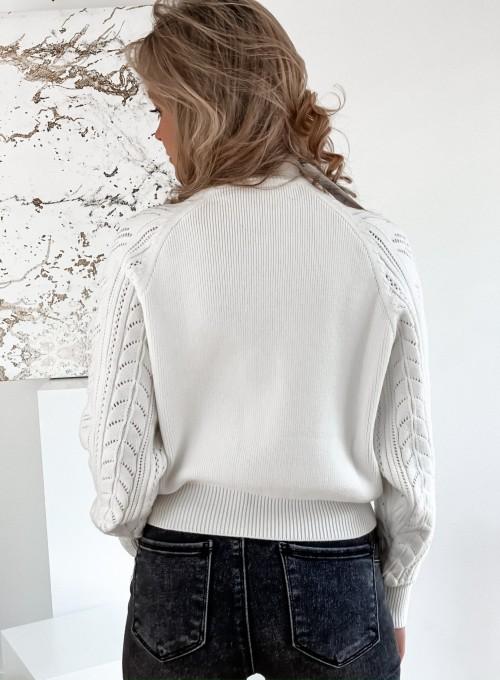 Sweter Tonni śmietankowy 5