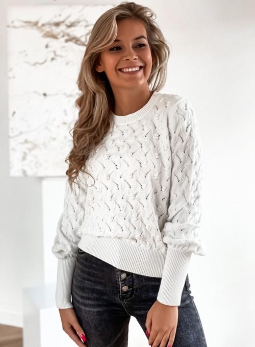 Sweter Naomi śmietankowy 1