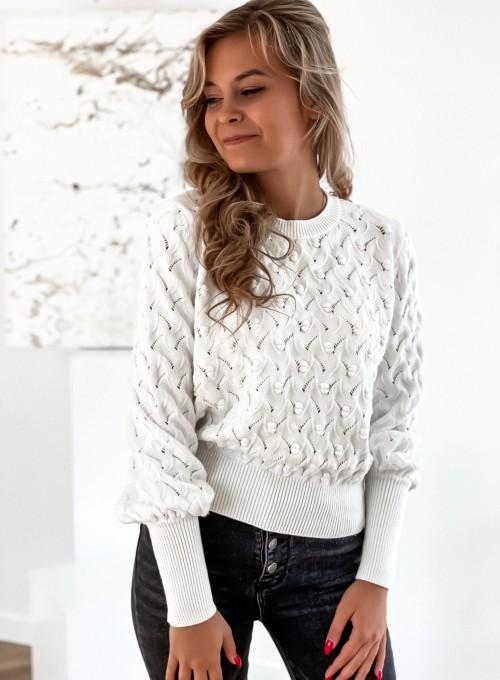 Sweter Naomi śmietankowy 3