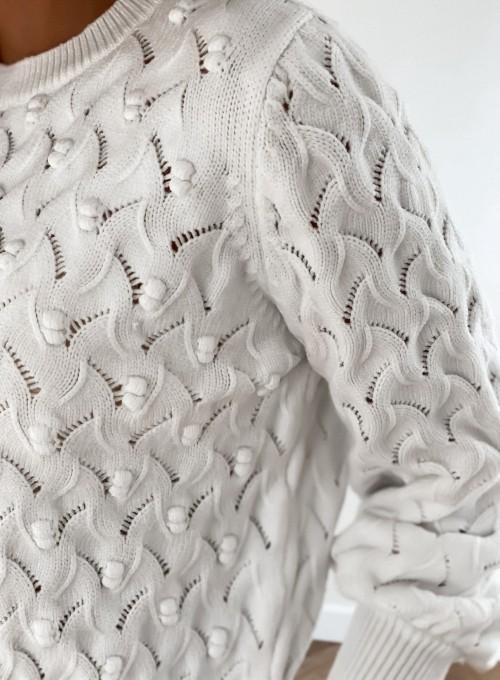 Sweter Naomi śmietankowy 4
