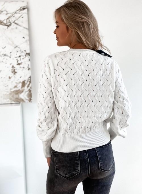 Sweter Naomi śmietankowy 5