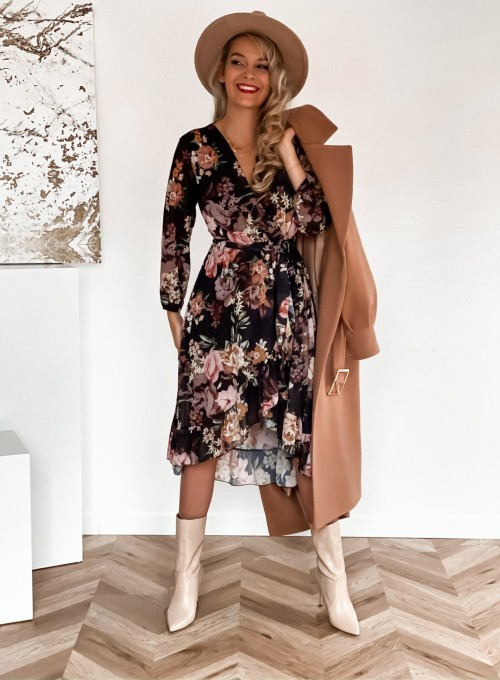 Sukienka Vessa czarna 1