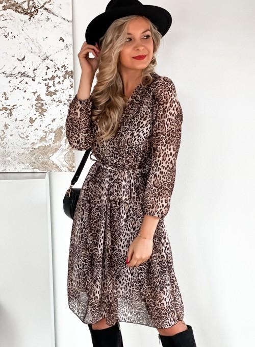 Sukienka Glori panther
