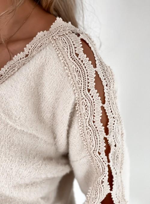 Sweter Gabi jasny beż 4