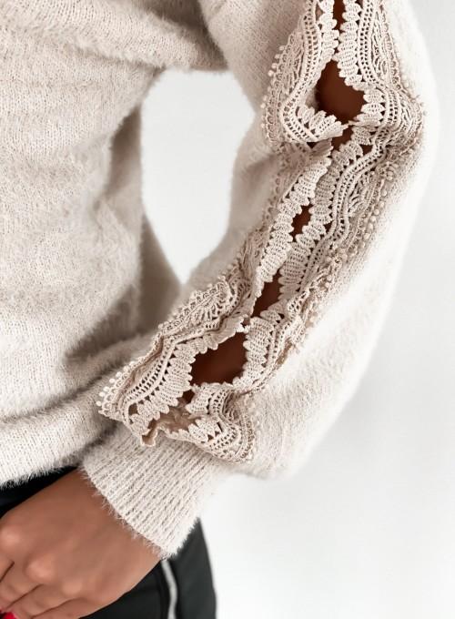 Sweter Gabi jasny beż 5