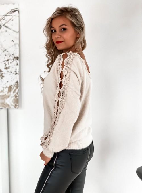 Sweter Gabi jasny beż 6