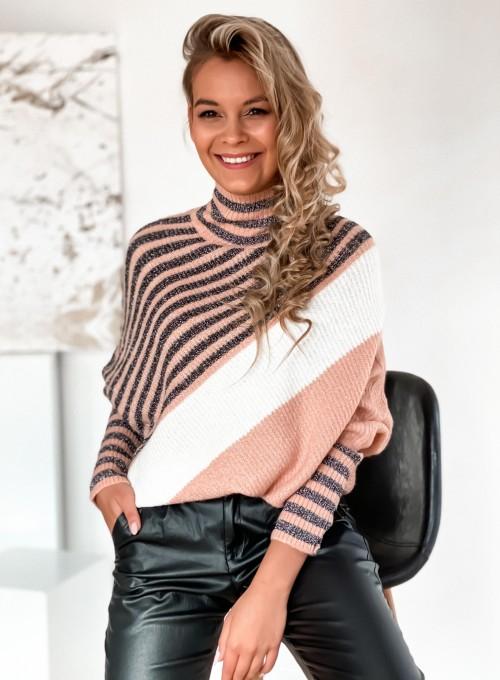 Sweter golf Megan puder