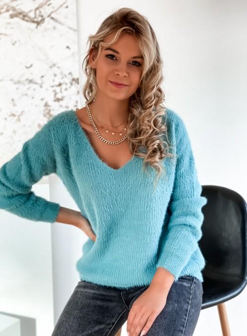 Sweter Feel miętowy 3