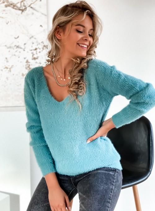 Sweter Feel miętowy 1