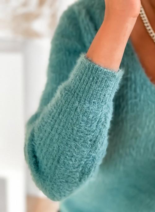 Sweter Feel miętowy 4