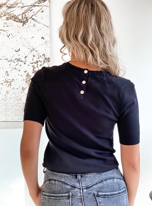 Bluzka Monica w kolorze czarnym 4