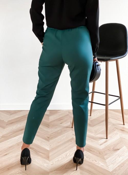 Spodnie Liverno butelkowa zieleń 4