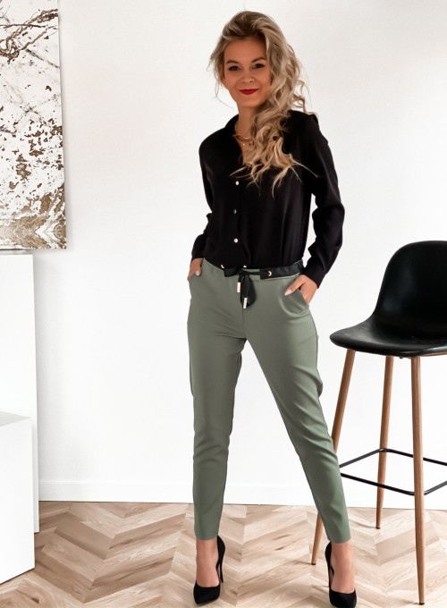 Spodnie Liverno khaki 1