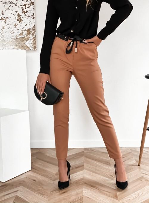 Spodnie Liverno camel