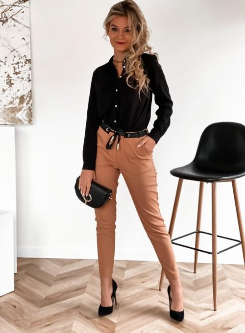 Spodnie Liverno camel 1