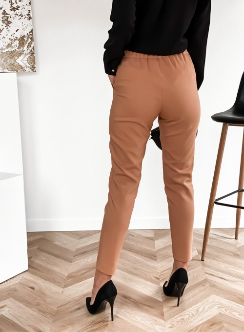 Spodnie Liverno camel 4