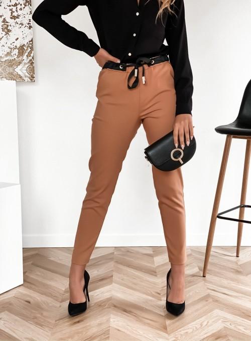 Spodnie Liverno camel 5