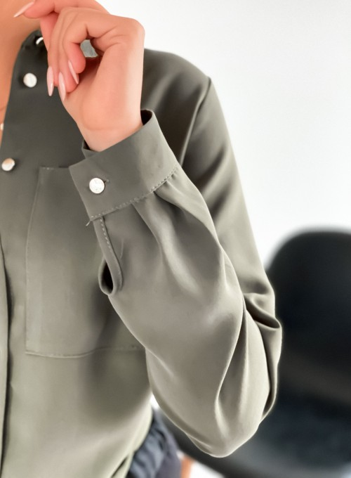 Koszula Maja khaki 6