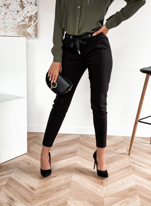 Spodnie Liverno czarne