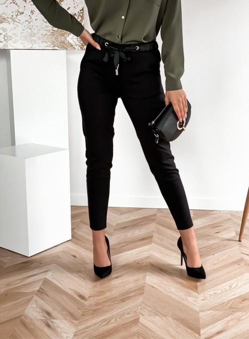 Spodnie Liverno czarne 4