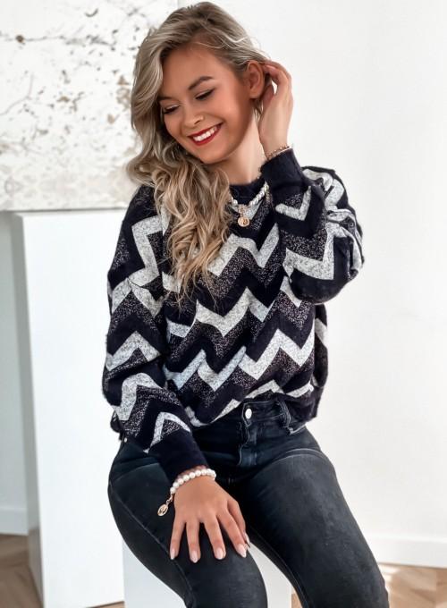Sweter Debi czarny 1