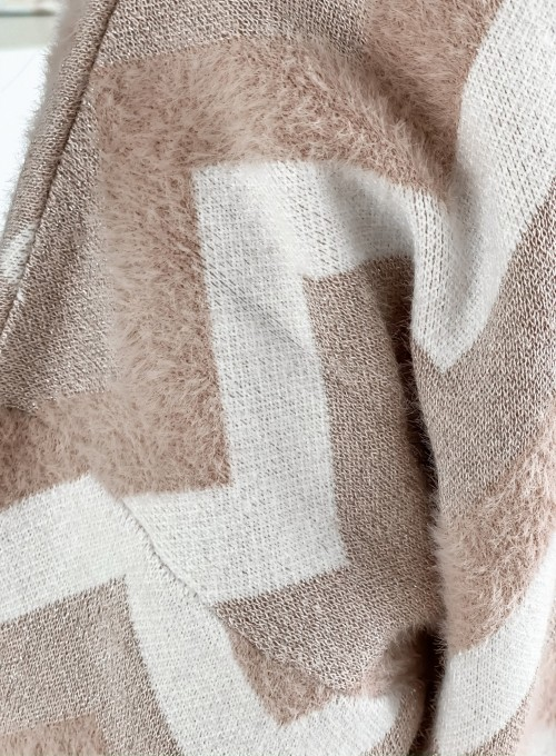 Sweter Debi pudrowy 7