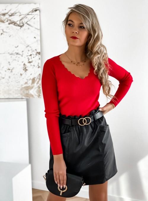 Bluzka Gambi w kolorze czerwonym