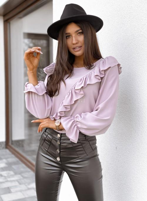 Bluzka Isabella pudrowa 3