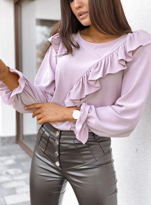 Bluzka Isabella pudrowa 1