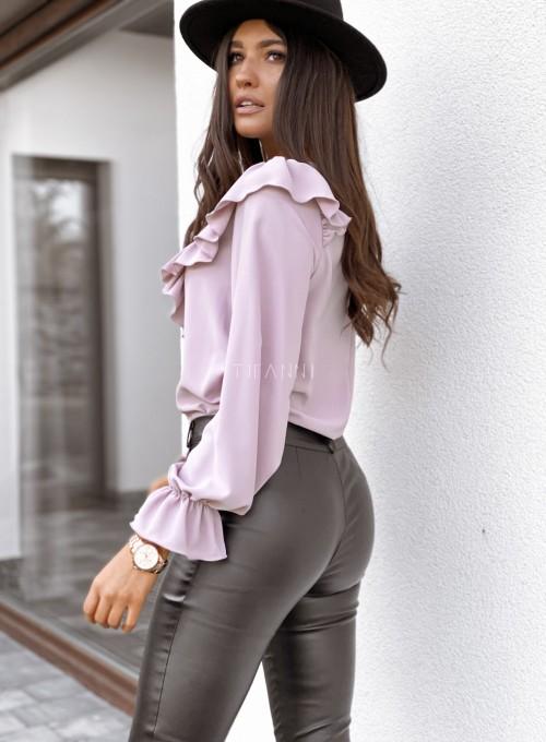 Bluzka Isabella pudrowa 4