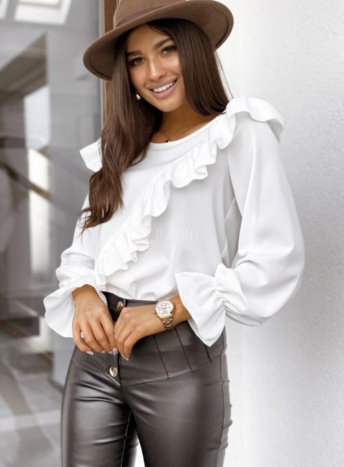 Bluzka Isabella śmietankowa 2
