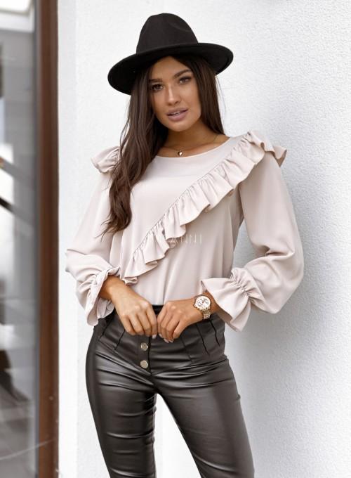 Bluzka Isabella beżowa 2
