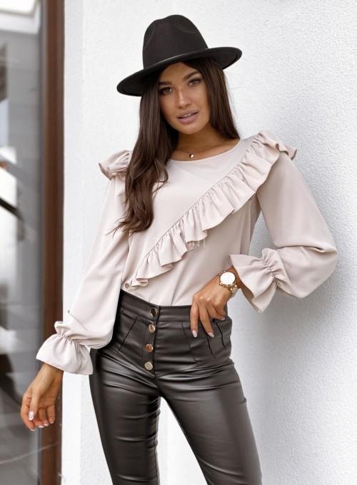Bluzka Isabella beżowa 3