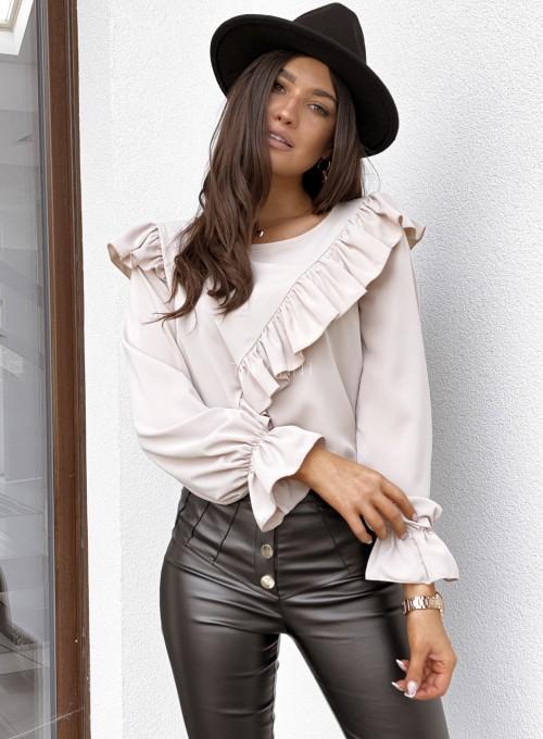 Bluzka Isabella beżowa 4